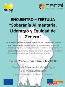 Cartel_Encuentro CIPCA Zgz